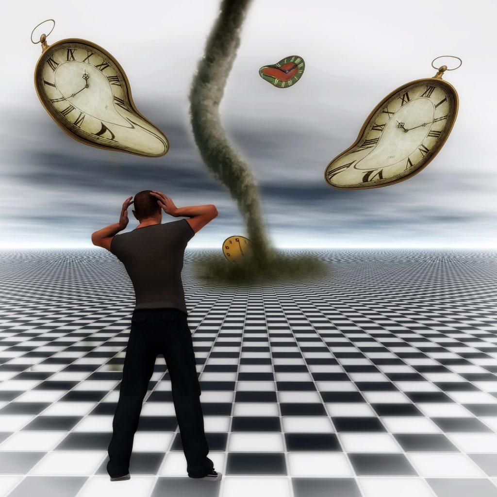 a vida nos cobra o mesmo ritmo alucinado da correria desenfreada